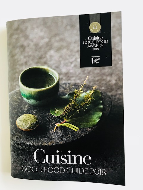 cuisine 2018 award guide