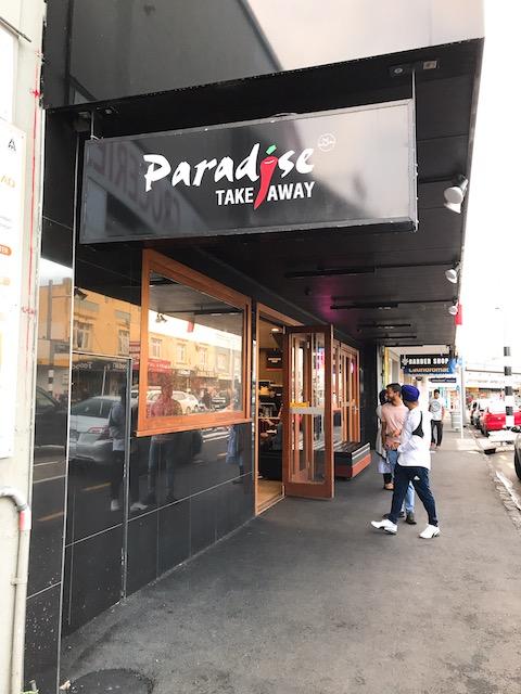 paradise takeaway 201811 sign