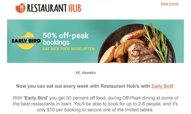 restaurant hub 201811 deal