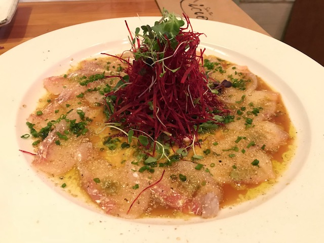 sake bar icco 201810 carpaccio