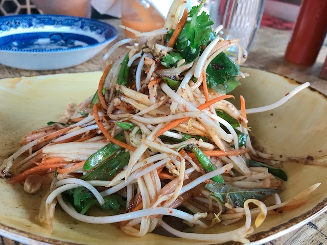 vietnamese kitchen 201902 papaya salad