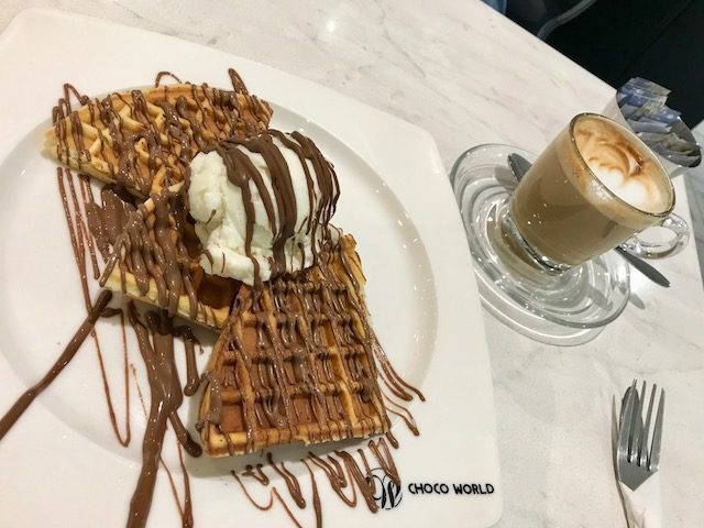 chocolate lounge 201903 waffle&coffee