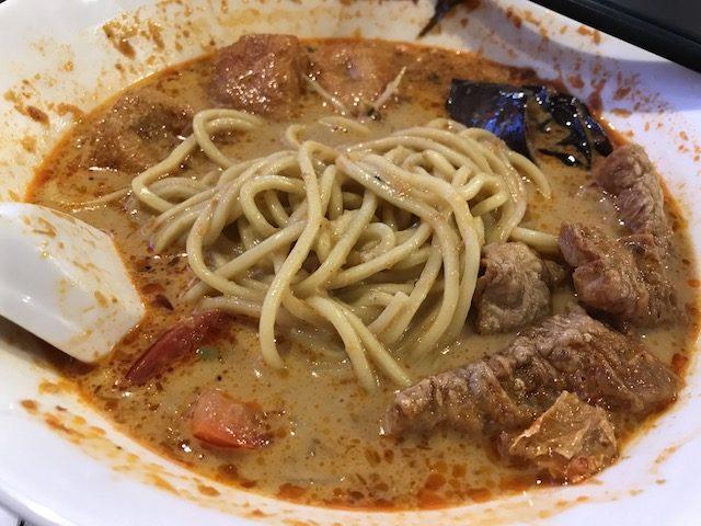 papparich 201903 vege laksa noodles