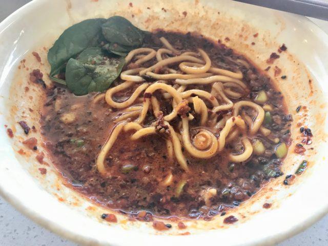tian fu noodles 201903 dan dan noodle