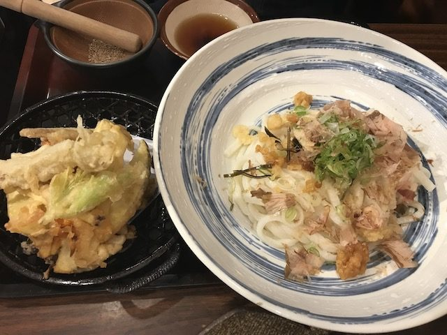 udon works 201903 kakiage bukkake