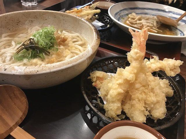 udon works 201903 tempura udon