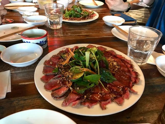gyoza bar 201903 beef tataki