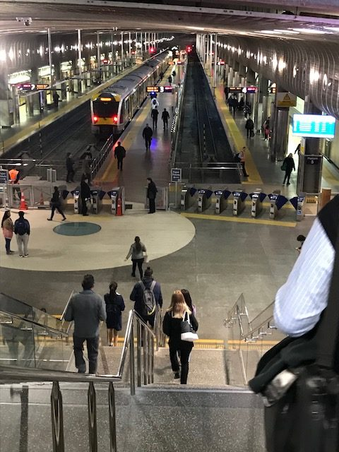 auckland train 201906 britomart staiton