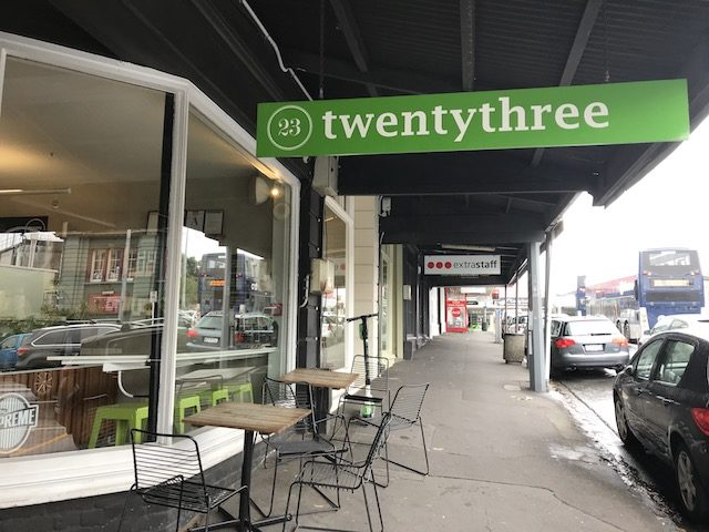 cafe twenty three 201904 exterior