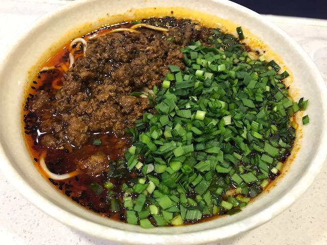 tian fu noodle 201906 dan dan mien