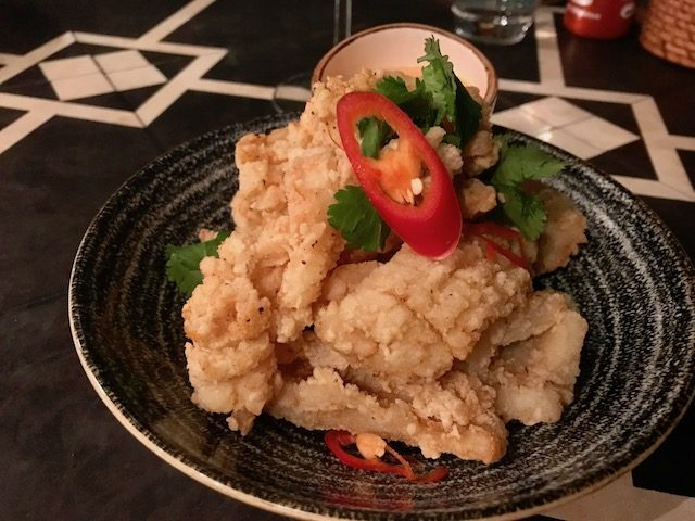 le vietnamese kitchen 201907 crispy squid