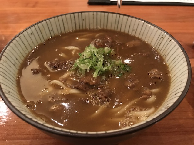 sake bar icco 201907 curry udon