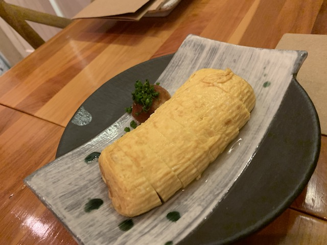 sake bar icco 201909 dashimaki