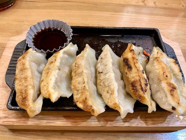 Japanese Lantern Street Bar 201910 gyoza