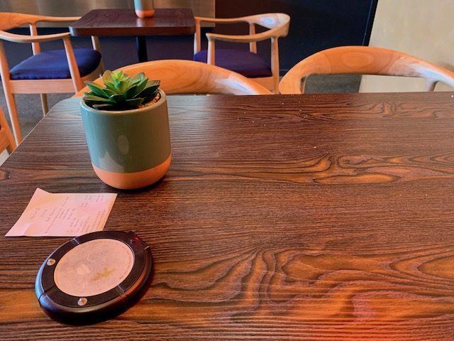 kai eatery 201910 table