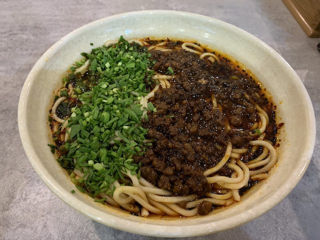 tian fu noodles 201911 noodle with chives