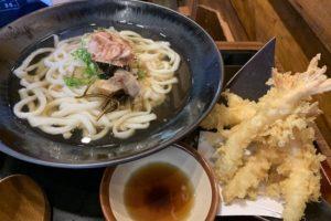 udon works 201911 tempura udon