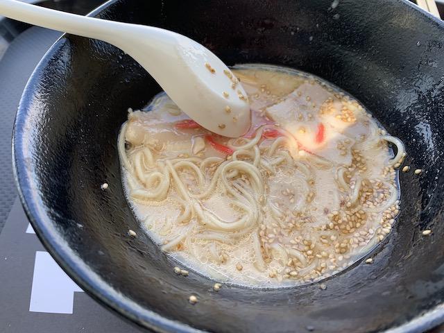 daruma ramen 202002 tonkotsu soup