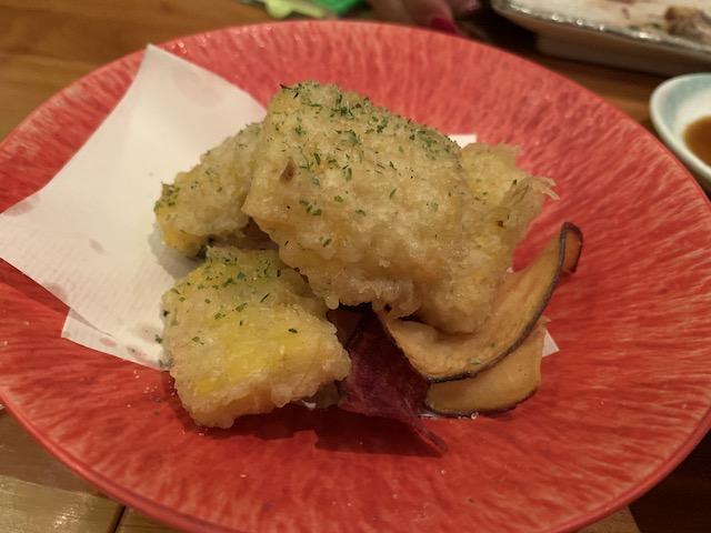sake bar icco 202001 corn tempura