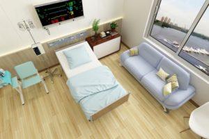 daneko illness 2020 hospital room