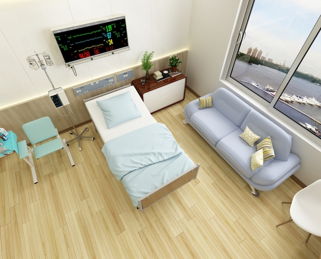 daneko illness 2020 hospital room