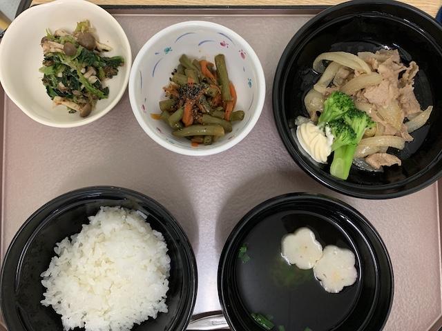hospital meals 0310D