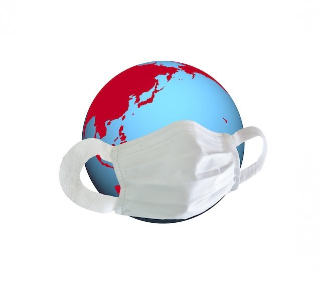 daneko illness 2020 the earth face mask on