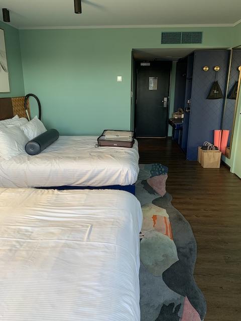 isolation hotel 2020 bedroom