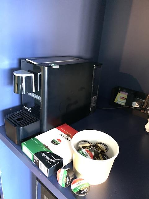 isolation hotel 2020 coffee