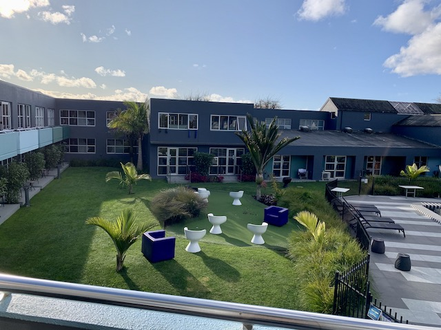isolation hotel 2020 garden