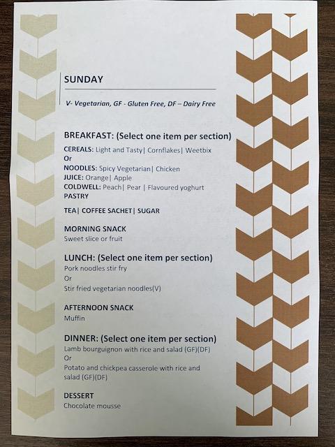 isolation hotel 2020 menu2