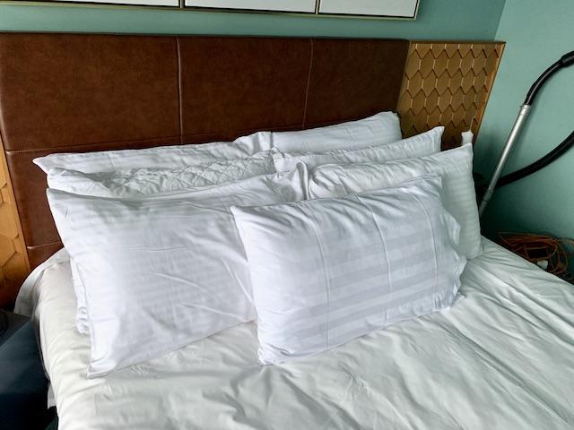 isolation hotel 2020 pillows