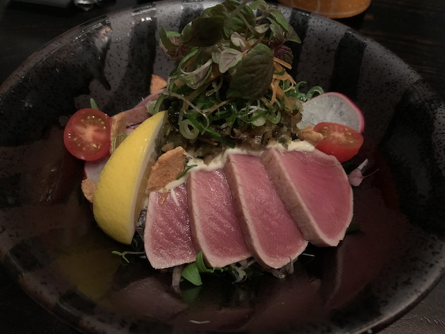 kinji 202007 maguro salad