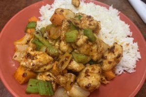 spicy house 202007 spicy chicken on rice