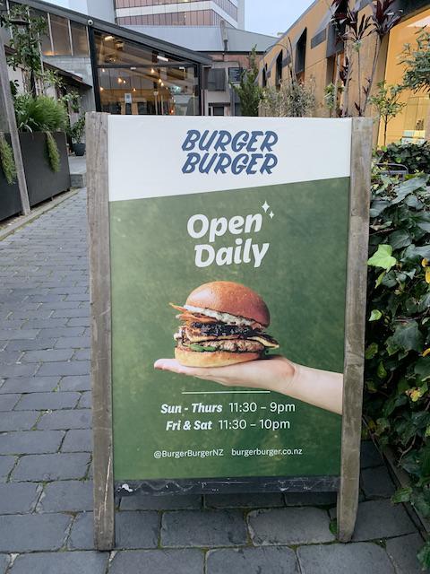burger burger 202107 sign